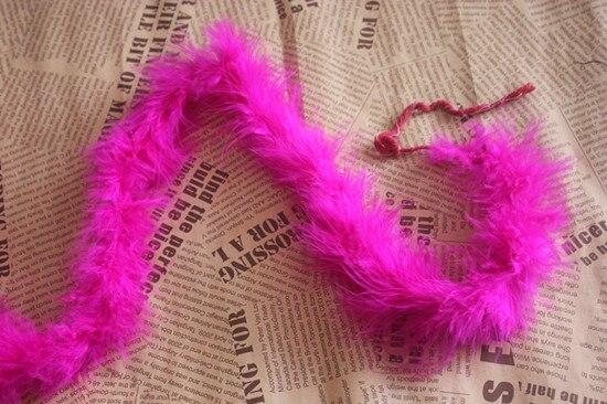 Marabu боа 2 м/лот 20 г 10 Новые цвета 1 шт - Цвет: rose red