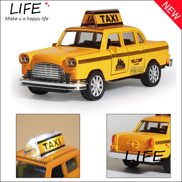 hot sale minecraft taxi alloy car model for kids toys wholesale diecast toy car hot wheels