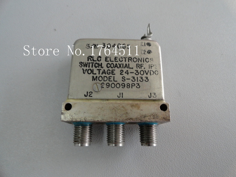 [BELLA] RLC S-3133 DC-18GHZ SPDT 24-30V  --2PCS/LOT