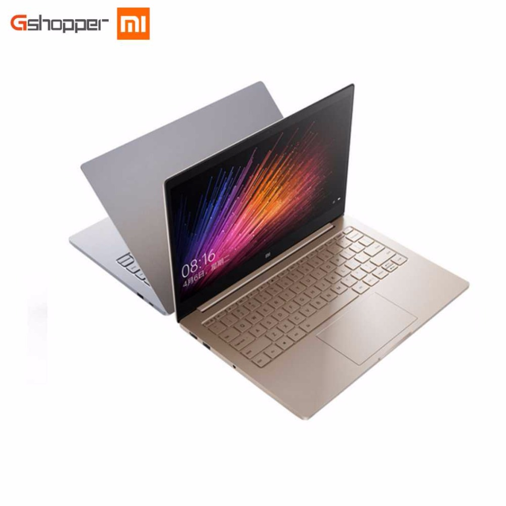 цены Original 13.3 Inch Xiaomi Mi Notebook Air Fingerprint Recognition Intel Core i7 CPU 8G ram 256G SSD Windows 10 Ultrabook Laptop