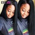 Топ Перуанский Девы Волосы Прямые Beyo Волос Перуанский Прямо Девы Волос Weave 4 Bundle Предложения Человеческих Волос Extensions1 # Jet черный