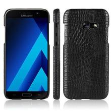 For Samsung A5 2017 A520F Case Quality PC Crocodile Grain Back Cover Hard Case for Samsung Galaxy A5 2017 A520 SM-A520F A5200 защитная плёнка для samsung galaxy a5 2017 sm a520f на весь экран tpu прозрачная luxcase
