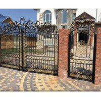 Double Door Iron Gates Italian Wrought Iron Gates Wrought Iron Gates Prices