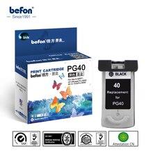 Черный картридж 40 совместимый для canon PG40 для Canon PIXMA IP1180 1880 1980 2580 2680 MP145 198 228 476 308 318 принтера