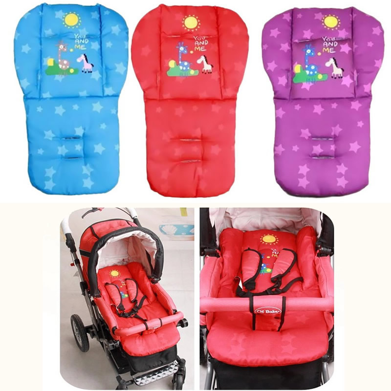 Cotton baby stroller pad baby stroller seat cushion double use umbrella car pad baby stroller accessories chair cushion TC10