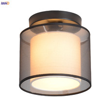 IWHD Chinese Style Round LED Ceiling Light Fixtures Bedroom Hallway Balcony Porch LED Ceiling Lamp Plafon Lampara De Techo led zeppelin led zeppelin led zeppelin iii 2 cd