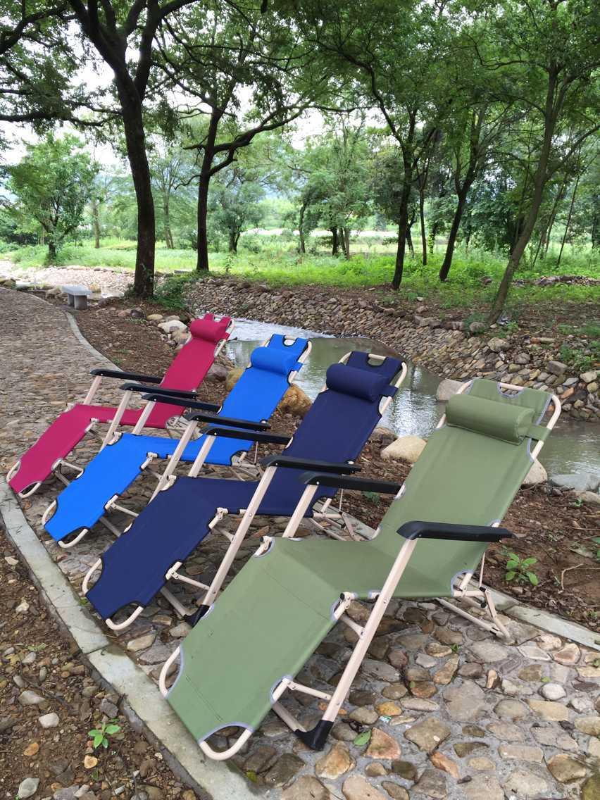 factory supply three square tube with folding chairs on the couch lunch break chair square tube - Folding Lawn Chairs On Sale
