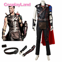 Thor Cosplay Costume Halloween Party Cosplay Costume Custom Made Superhero Odinson Thor Ragnarok Cosplay Costume Fancy Suit