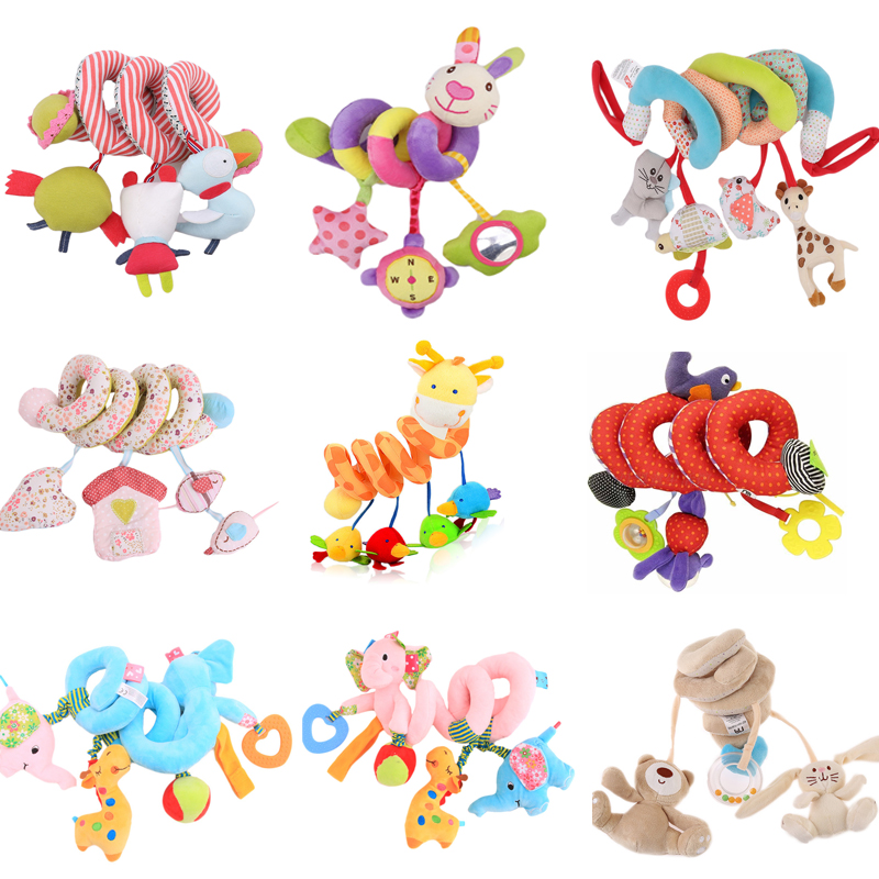 LAIMALA bed Toy Baby Rattles stroller Mobile 0-12 months