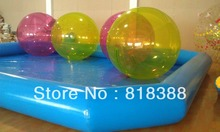 water swimming pool inflatable pool 6X8X0.5MTS