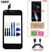 Мобильный сенсорный экран 4,0 дюйма, сенсорный экран для ZTE Blade L110 L 110, сенсорный экран, дигитайзер, панель, переднее стекло, объектив, датчик, инструменты, подарок