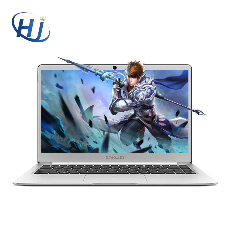 Original Teclast F7 Notebook Windows 10 14 Inch 1920x1080 IPS 6GB DDR3 64GB Intel Celeron N3450 Quad Core M.2 2242 SSD USB3.0x2