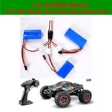Горячая продажа RC, Автомобильный Аккумулятор 7,4 V 1500 mAh аккумулятор для 9125 гоночного дистанционного управления RC автомобиль грузовик запасные части батареи