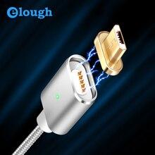 Магнитный зарядный кабель Elough E03 с Micro USB для Xiaomi, Магнитный зарядный кабель с micro usb для Android, кабель с Micro USB для передачи данных