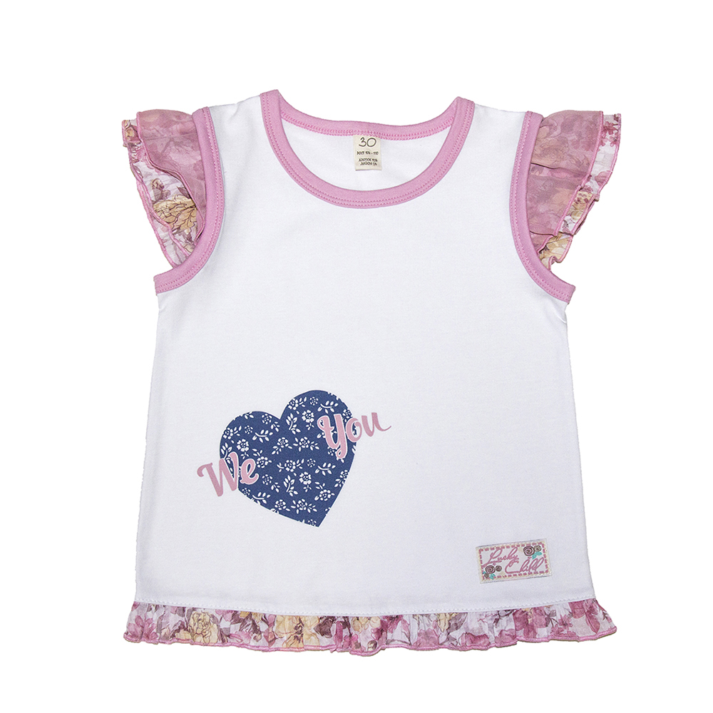 Tanks & Camisoles Lucky Child for girls 50-264 (24M-8T) Underwear Kids Baby T shirt Children clothes набор фигурок книга джунглей jungle book