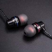 Ersuki DM1 In-Ear Earphone Special Edition Headset Clear Bass Earphones With Microphone fone de ouvido audifonos Headset