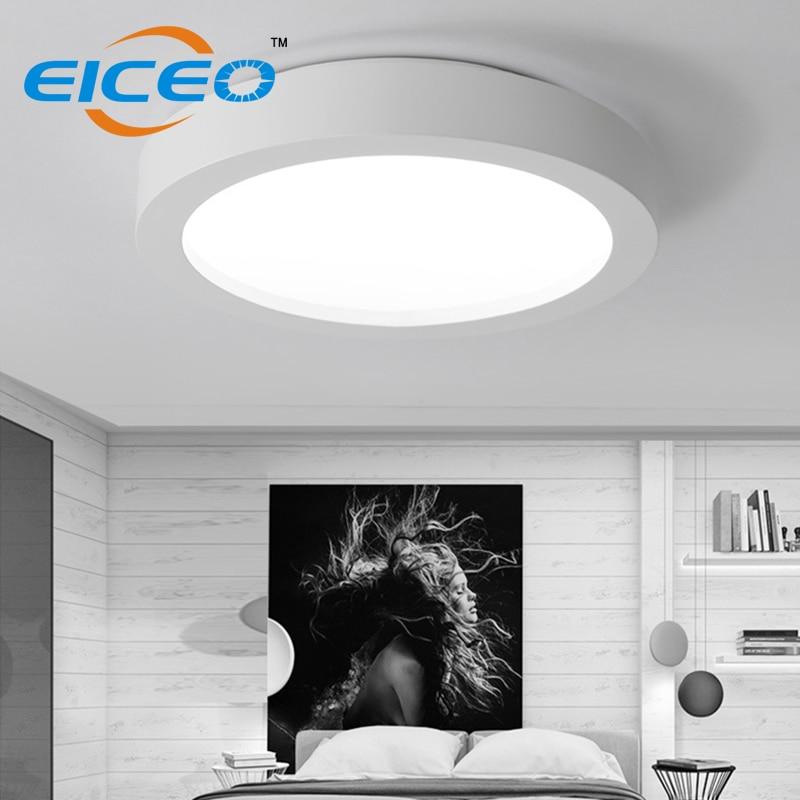 2018 vente chaude a mené des plafonniers de techo de luminaria de lumière de plafond dimmable pour le salon