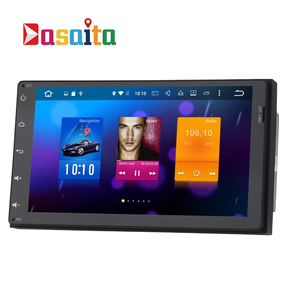 Stereo Head Unit Android Gps For Toyota Fortuner 2017 Innova Estima 2 Din Harriers Auto Radio