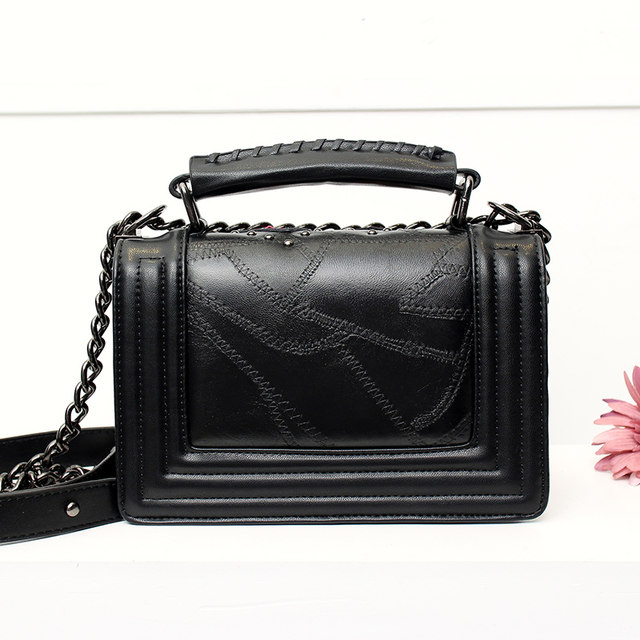 Online Shop Loodial Brand Women Messenger Bags Fashion Black Quilted