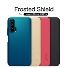 Huawei Honor 20 Cover Honor 20 Pro Case NILLKIN Super Frosted Shield Hard Back Cover For Huawei Honor 20 with Gift Phone Holder цена и фото