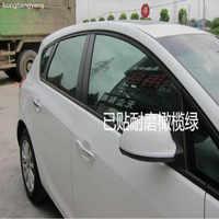 Largura 50 cm filme janela do carro filme matiz da janela do carro filme de tingimento para carros janela 4 M/LOTE VERDE FRETE GRÁTIS
