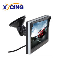 XYCING 5 Inch TFT LCD 800 480 Digital Monitor Car Rear View Monitor HD Screen Sun