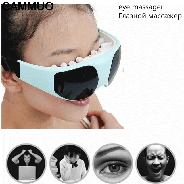 ec2f13672e3 Protect Your Eyes Safe Relaxation Mask Migraine DC Electric Health Care  Forehead Eye Massager Device Release Alleviate Fatigue