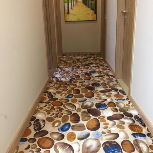 3D Carpet Printed Stone Rugs Hallway Carpets For Home Living Room Area Rug  Skidproof Kitchen Rug