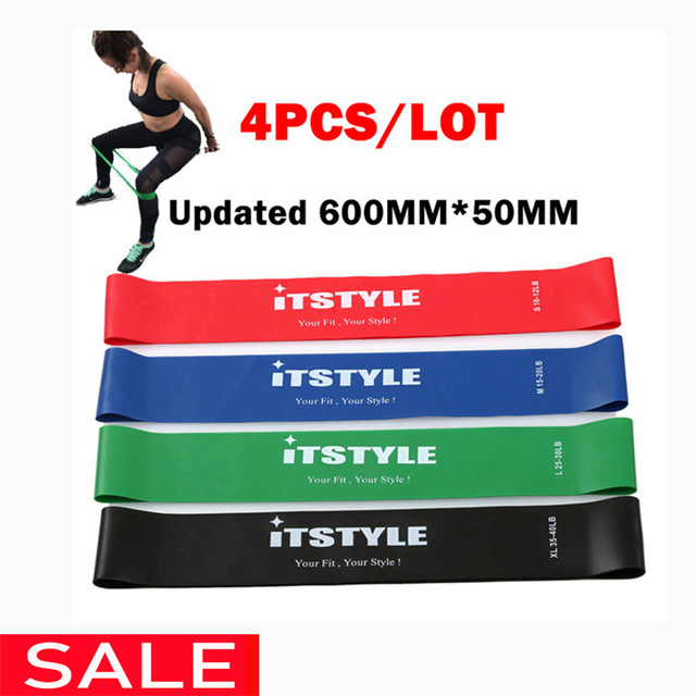 Resistance Bands Set 10 Levels Available Latex Gym Strength Training  Fitness Equipment Expander Yoga Rubber band