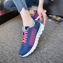 Sport Women Running Shoes Outdoor Breathable Mesh Sneakers Female Athletic Cushioning Walking Shoes Trainers Zapatillas Hombre цена