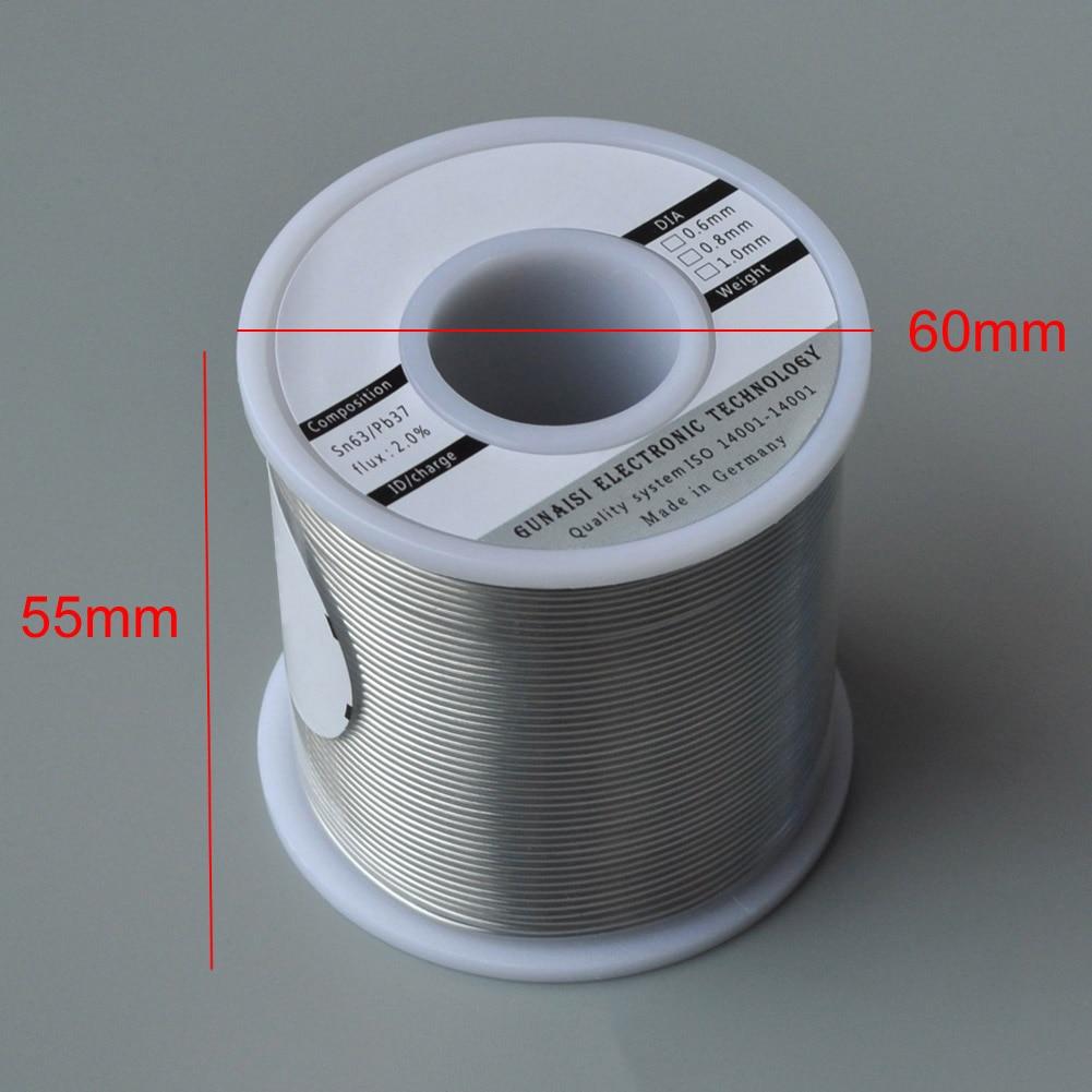 Solder Wire Roll Tin Lead Melt Rosin Core Soldering Durable High Brightness Non-toxic HUG-Deals