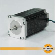 цена на ACT Motor 1PC Nema23 Stepper Motor 23HS2430 Single Shaft 4-Lead 425oz-in 112mm 3.0A Bipolar 8mm-Diameter CE ISO ROHS