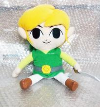 Free shipping Large 12 inches Legend of Zelda Stuffed Toy: Link Plush - plush toy