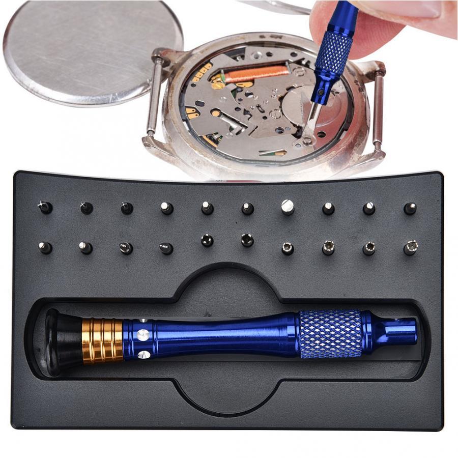 20pcs Special-shaped Precision Screwdrivers Set Watch Case Opener Watch Repair Tool Kit Clock Watch Parts Watchmaker Tools | Repair Tools & Kits
