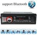 12 V Car Stereo FM Radio MP3 Reproductor de Audio Bluetooth función de Teléfono con USB SD MMC Del Coche Electrónica En El Tablero 1 DIN tamaño bluetooth