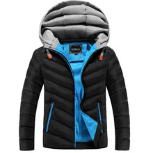 Cotton-Padded Hoodie Detachable Jacket 4 Colors