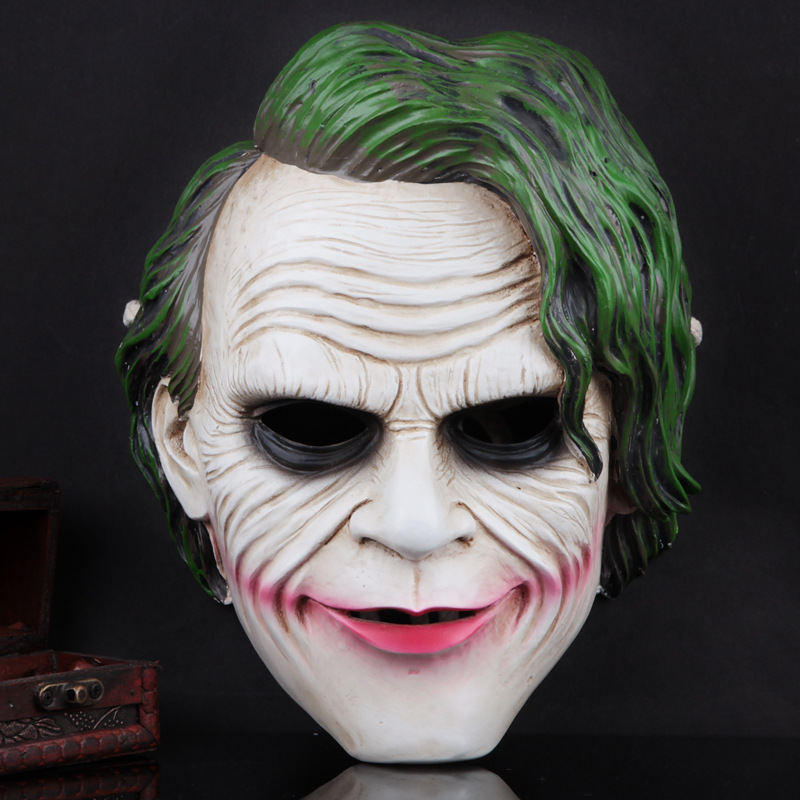 Haute Qualité Réaliste Halloween Mascarade Masque D'horreur Masque De Résine Fantôme Masque Parti Cosplay Masques