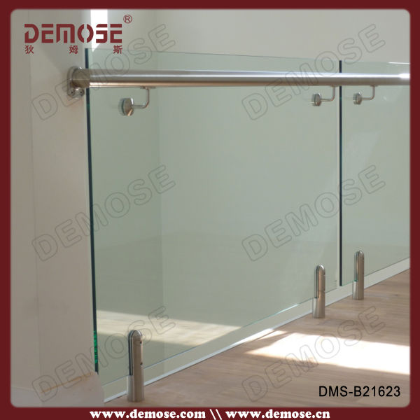 frameless glass balcony railing plexiglass deck railing glass balustrade on aliexpresscom alibaba group - Balcony Railing