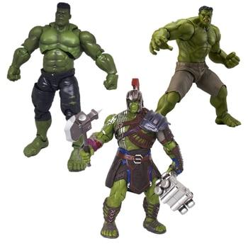 Avengers Infinity War PVC Hulk Action Figure Hulk Captain America Iron Man Thor Hulk Figure Robert Hulk Figures Model Toys Dolls фото