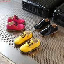Children Leather Shoes for Boy Classic Wedding Girl Party School