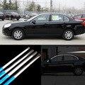 6 pcs de Aço Inoxidável Moldura Da Janela Da Porta de Moldagem Peitoril Guarnição Para Chevrolet Epica 200-