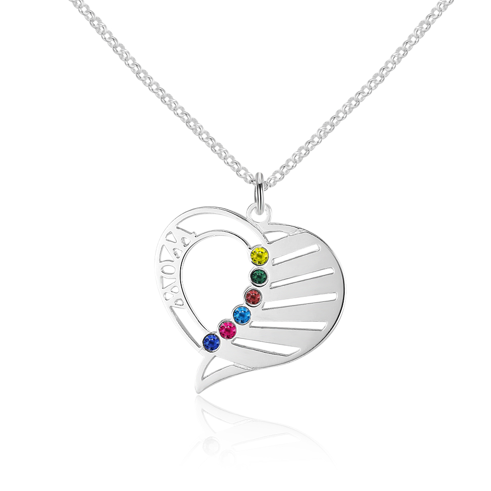 Personalized 925 Sterling Silver Necklaces Pendants For Women Trendy Fine Jewelry Customized Gift (NE101577)Personalized 925 Sterling Silver Necklaces Pendants For Women Trendy Fine Jewelry Customized Gift (NE101577)