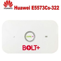 Huawei High Speed Unlocked 4G/ LTE E5573cs 322 150 Mbps Portable Mobile Wi Fi Router