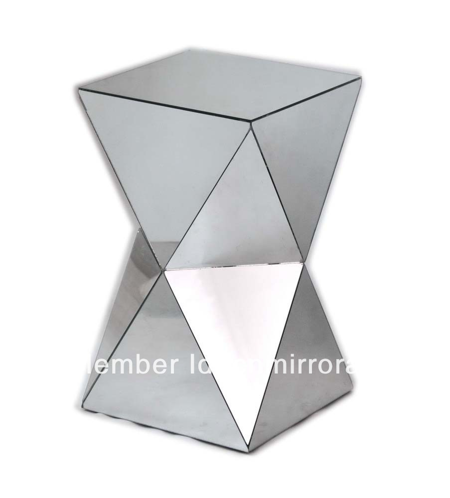 Mr401001 Modern Mirror Pedestal, Side Table, Small Table Furniture