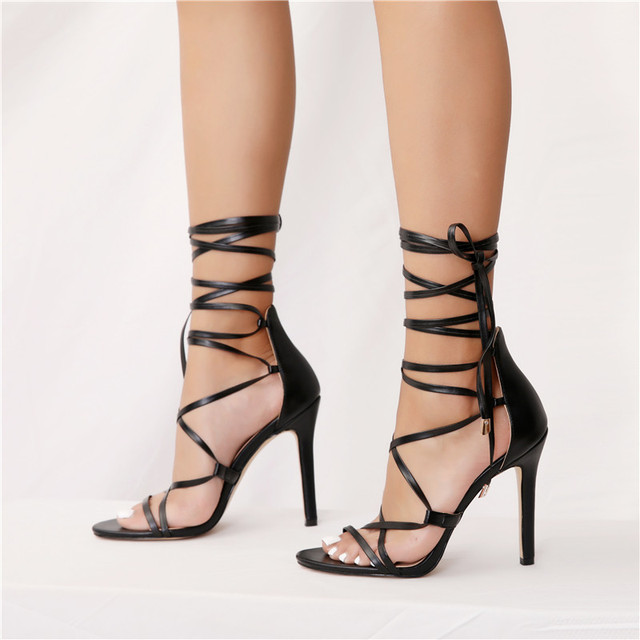 onlymaker Women's Gladiator Ankle Strap