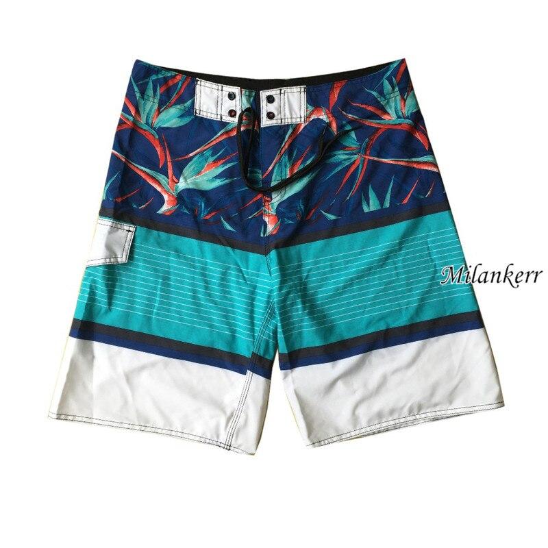 2018 Hot Men Boardshorts Beach Surf   Board     Shorts   Surfing Swim Wear Trunks Pant Swimwear   Short   summer Quick-drying   Shorts