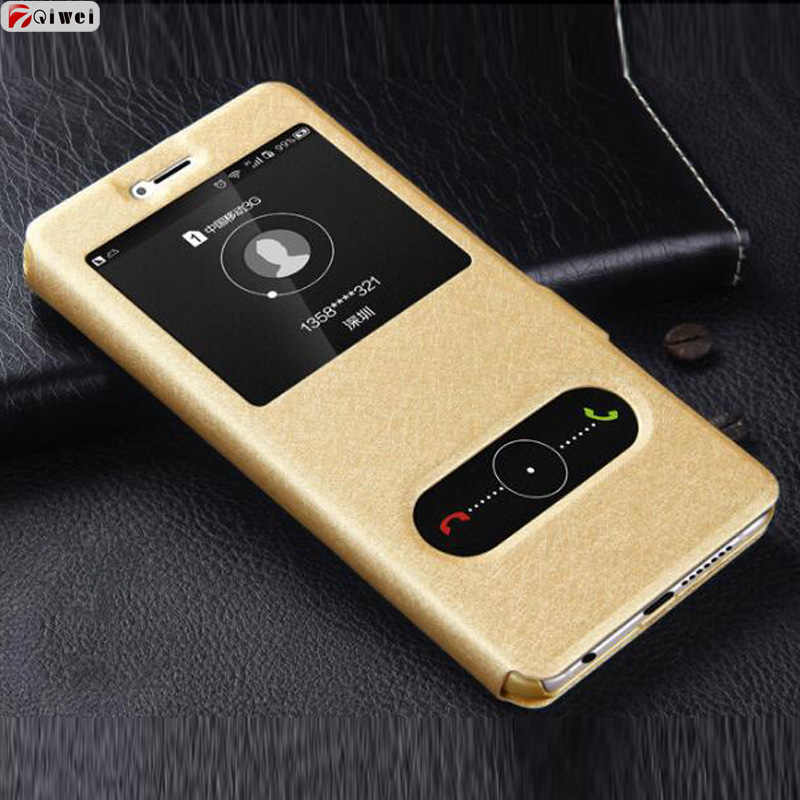 "Coque Honor 7A Case DUA-L22 5.45"" View Flip PU Leather Phone Case For Huawei Honor 7A 7 A Honor7A Russian Version Case Cover"