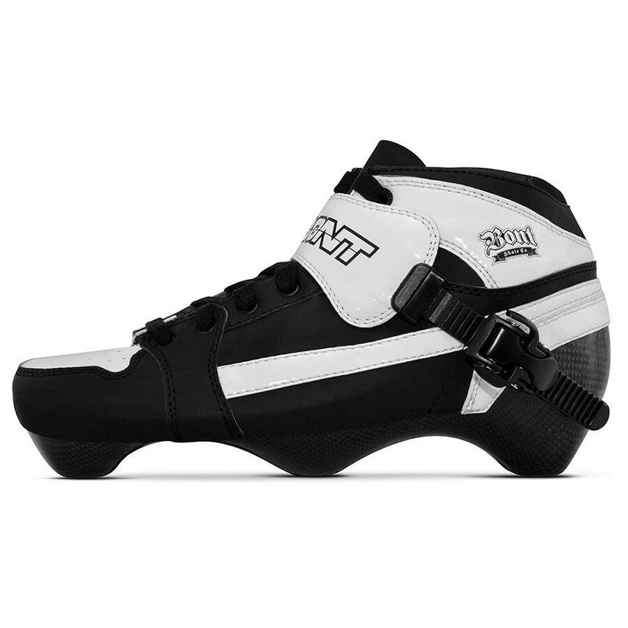Sport & Unterhaltung Skate-schuhe Ausdrucksvoll 100% Original Bont Verfolgung 3pt Geschwindigkeit Inline Skates Heatmoldable Carbon Faser Boot Competetion Racing Skating Boot Patines Schuhe Neueste Mode
