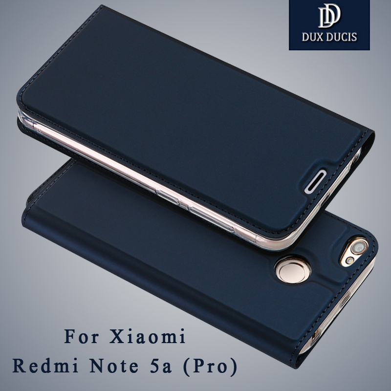 Xiaomi Redmi note 5A case Dux Ducis Wallet Leather Case xiaomi redmi note 5a prime Flip Cover For Xiaomi redmi Y1 Y1 lite cases