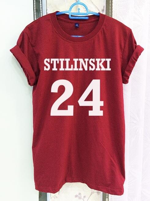 Gepäck & Taschen Zielsetzung Stiles Stilinski Teen Wolf Shirt Kleidung 24 Crimson Rot Frauen T-shirt T Kurzarm T-shirt-c813 Keine Kostenlosen Kosten Zu Irgendeinem Preis